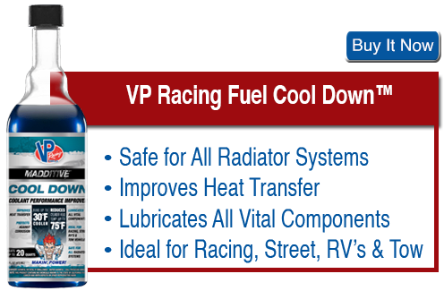 VP Racing Fuels Cool Down