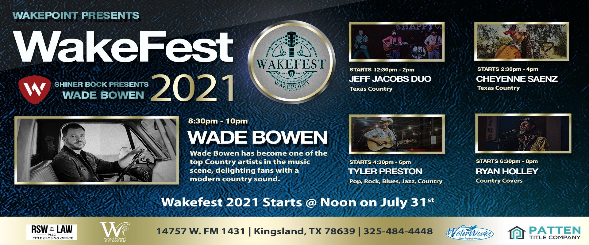 WakeFest 2021