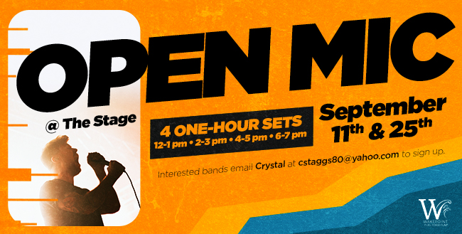 Open Mic Day